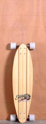 "Sector 9 32.5"" Hot Steppa Bamboo Longboard Complete"