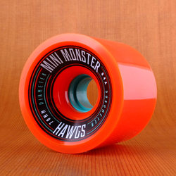 Hawgs Mini Monster 70mm 84a Wheels - Orange