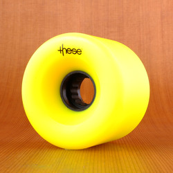 These 69mm 82a ATF 327 Wheels - Yellow