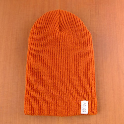 Poler Tube City Beanie - Burnt Orange