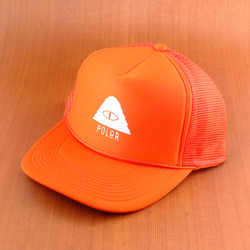 Poler Cyclops Trucker Hat - Burnt Orange