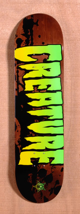 "Creature Stained 8.26"" Skateboard Deck"