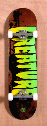 "Creature Stained 8.26"" Skateboard Complete"