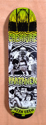 "Creature Partanen Reaganomican 8.3"" Skateboard Deck"