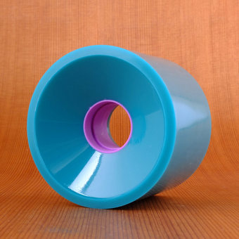 Hawgs Mini Monster 70mm 86a Wheels - Teal