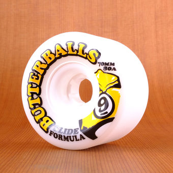 Sector 9 Butterballs 70mm 80a Wheels - White