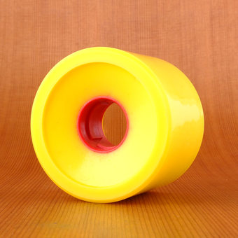 Earthwing Road Rage 66mm 87a Wheels - Yellow
