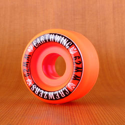 Earthwing Crewzers 62mm 90a Wheels - Orange