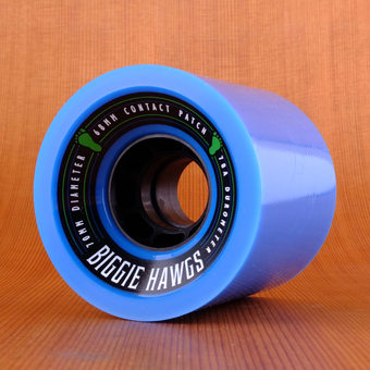 Hawgs Biggie 70mm 78a Wheels - Blue
