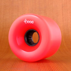 These 69mm 80a ATF 327 Wheels - Red