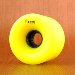 These 69mm 80a ATF 327 Wheels - Yellow