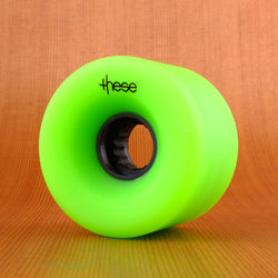 These 66mm 82a ATF 327 Wheels - Green