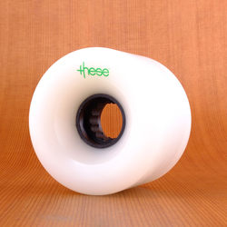 These 66mm 82a ATF 317 Wheels - White