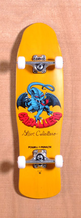 "Powell 29.5"" Caballero II Mini Skateboard Complete - Yellow"