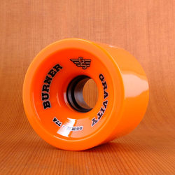 Gravity Burner 66mm 77a Wheels - Orange