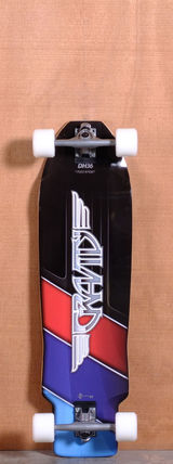 "Gravity 36"" Down Hill Key Longboard Complete"