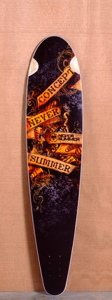 "Never Summer 42"" Concept Longboard Deck"