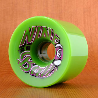 Sector 9 Top Shelf 74mm 78a Wheels - Green