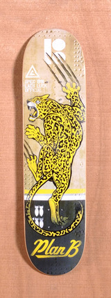 "Plan B Claw Team Mini 7.6"" Skateboard Deck"
