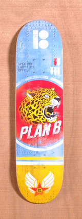"Plan B Cheetah Team Mini 7.7"" Skateboard Deck"