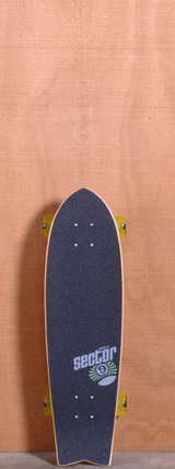 "Sector 9 29.25"" Floater Longboard Complete - Yellow"