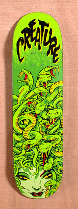 "Creature Medusa LTD 8.8"" Skateboard Deck"