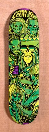 "Creature DAF Divas LTD 8.47"" Skateboard Deck"