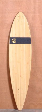 "GoldCoast 44"" Classic Floater Longboard Deck - Bamboo"