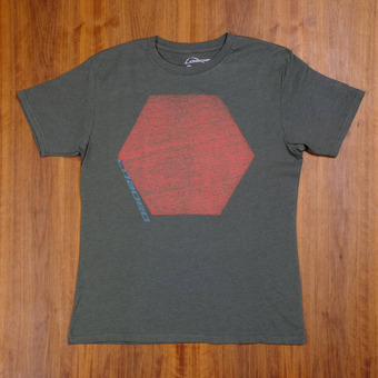 Loaded Hexagon T-Shirt - Green