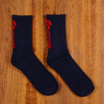 Sector 9 Backside Logo Socks - Charcoal Grey