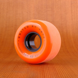 Globe Bruiser 58mm 83a Wheels - Orange/Black/Black