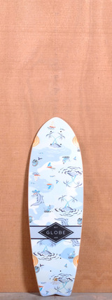 "Globe 30"" Sun City Longboard Deck - Blue Palms"