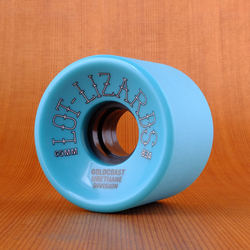 GoldCoast Lot Lizards 65mm 83a Wheels - Teal