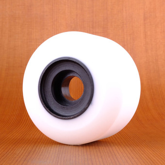 RAD Glide 70mm 78a Wheels - White