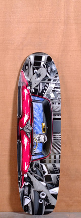 "Earthwing 37"" Hell Camino Longboard Deck"