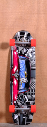 "Earthwing 37"" Hell Camino Longboard Complete"