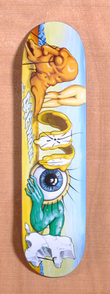 "Almost Daewon Art History Word Mark 7.9"" Skateboard Deck"