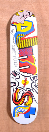 "Almost Mullen Art History Word Mark 7.5"" Skateboard Deck"