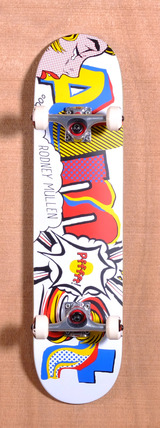 "Almost Mullen Art History Word Mark 7.5"" Skateboard Complete"