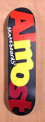 "Almost Pop Art 8.5"" Skateboard Deck - Black"