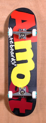 "Almost Pop Art 8.5"" Skateboard Complete - Black"