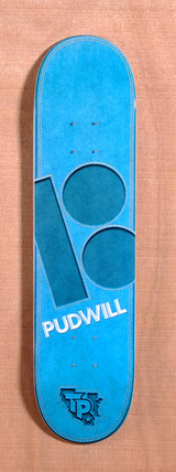 "Plan B Pudwill Leather 7.7"" Skateboard Deck"