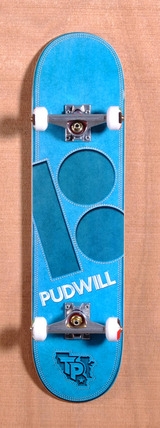 "Plan B Pudwill Leather 7.7"" Skateboard Complete"
