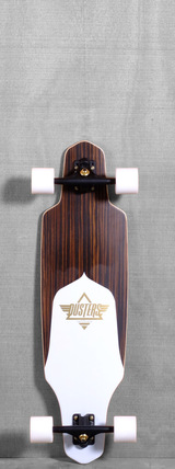 "Dusters 34"" Channel Longboard Complete - Ebony"