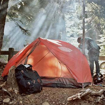 Poler One Man Tent - Orange