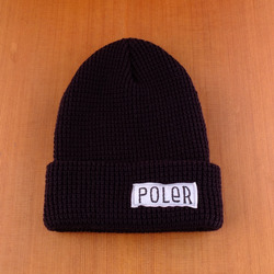 Poler Worker Man Beanie - Black