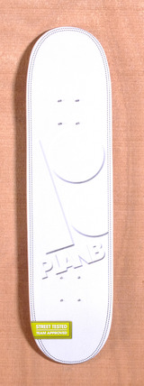 "Plan B Team Leather 8.0"" Skateboard Deck"