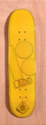 "Plan B Ladd Leather 8.0"" Skateboard Deck"