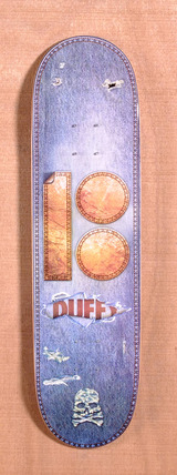 "Plan B Duffy Leather 8.25"" Skateboard Deck"