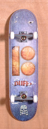 "Plan B Duffy Leather 8.25"" Skateboard Complete"